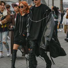 Seoul #Fashion Week Fall 2016 Street #Style, Day 6.