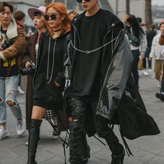 Seoul #Fashion Week Fall 2016 Street #Style, Day 6.