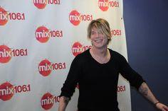 Pics from John Rzeznik's visit to Mix Philadelphia on 1/17/2014