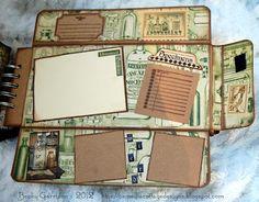 Camellia Cottage Designs: Graphic 45 - Olde Curiosity Shoppe Mini Album