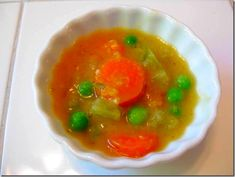 Slow Cooker Split Pea Soup with ham, 5 points+ and 100% Simply Filling