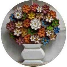 Quadro De Flores Triplo Colorido Madeira Artesanato Mineiro - R$ 628,00 no MercadoLivre