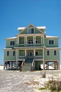 Beach House in Gulf Shores, Alabama~ Many great beach concerts are held in Gulf Shores. Jimmy Buffet calls it his roots & home!