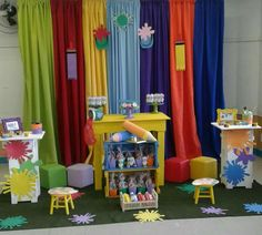 Art Party Decorations, School Decorations, I Party, Party Ideas, Community Service, Head Start, Paint Party, 1st Birthday Parties, Puzzle