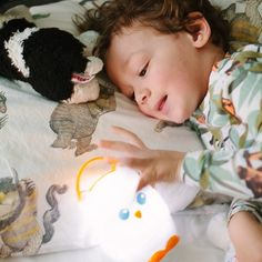 Help comfort your toddler during bedtime and overnight potty treks with this adorable owl nightlight.