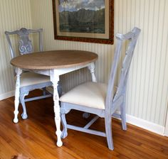 DIY how to mod podge burlap on a laminate table