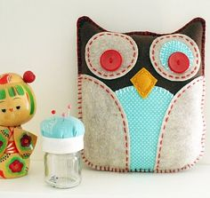 New Eco Felt Owl Plush At Lova Revolutionary