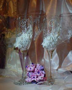 Wedding Glasses Wedding Champagne Flutes Bride And by WeddingbyAnn, $52.00