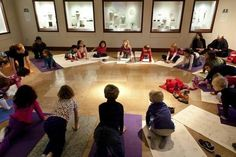Library Live: with Crow Collection of Asian Art: Yoginos Dallas, TX #Kids #Events