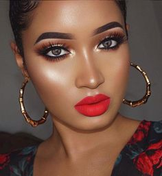 Full Face Makeup Looks - Makeup and Beauty Guides for Women Flawless Makeup, Glam Makeup, Gorgeous Makeup, Bridal Makeup, Makeup Tips, Makeup Ideas, Makeup Products, Sexy Makeup, Beauty Products