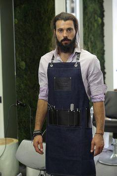 Elvis barber apron by RassoWorkwear on Etsy