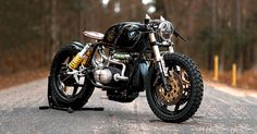 Not all BMW motorcycles are sensible. This is National Custom Tech's latest in-house project—a BMW R100 RT called 'Black Stallion.'