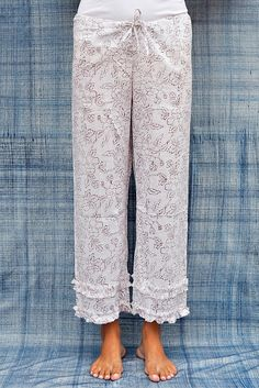 #SummerLiving #MustHaves  Cool Cotton  Lounge Pant Like These by Kerry Cassill