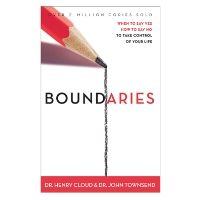 Boundaries....This is such an eye opening book, making me realize I need to make some boundaries so I can be happy & free to live in love & not by guilt. Highly recommend. -Tabitha