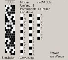 8 around tubular bead crochet rope pattern Crochet Bracelet Pattern, Bead Crochet Patterns, Beaded Jewelry Patterns, Peyote Patterns, Loom Patterns, Bracelet Patterns, Beading Patterns, Crochet Necklace, Crochet Ball