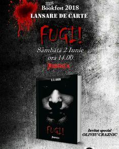 Oana Arion şi Librex Publishing vă invită la lansarea romanului FUGI!, sâmbătă 2 Iunie, ora 14.00. Evenimentul va avea loc în cadrul Târgului Internaţional de Carte Bookfest. Vă aşteptăm la lansare.