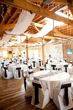 South Dakota Black  White Wedding Decor » Sioux Falls Wedding Envision Blog