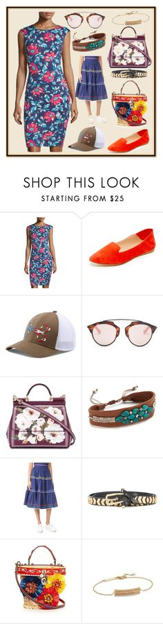 """""""Famous Style"""" by cate-jennifer ❤ liked on Polyvore featuring Carmen Marc Valvo, Sigerson Morrison, Under Armour, Christian Dior, Dolce&Gabbana, Chan Luu, Anna October, Dodo Bar Or and ZoÃ« Chicco"""