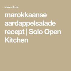 marokkaanse aardappelsalade recept | Solo Open Kitchen