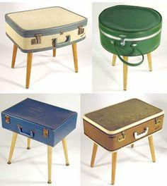 Kleine Koffertische - easypeasy und hübsch!