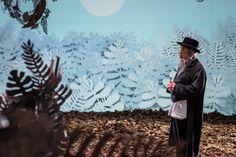 """""""Hanoh odchodzi bez słowa""""/""""Hanoh leaves...."""" by Antoni Winch dir. Darek Cókier Błaszczyk DoP. Jan Holoubek cost. Salome Maisashvili  photo.Wojtek Radwański"""