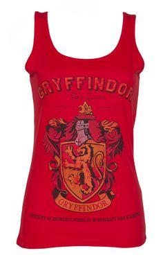 Ladies Red Harry Potter #Gryffindor Team #Quidditch #Vest xoxo xoxo