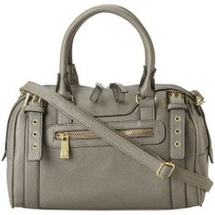 Buy Steve Madden - BMiilly Satchel (Grey) - Bags and Luggage price - 6pm is proud to offer the Steve Madden - BMiilly Satchel (Grey) - Bags and Luggage: Satisfy a style craving with this sensational satchel!