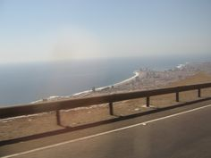 Another shot from Iquique. I like it how it is basically a desert and it has the ocean, right over THERE.