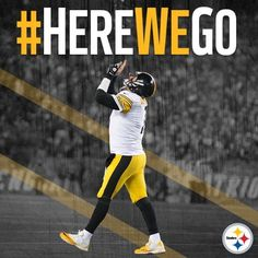 Can't Wait to see what's ahead for our home team. Go Steelers, Pittsburgh Steelers Football, Pittsburgh Sports, Steeler Nation, Home Team, American Football, Black N Yellow, Baby, Big Ben