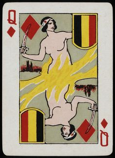VIDETTE PLAYING CARDS, AUSTRALIA 1915