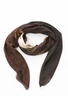 Schal von RUNDHOLZ bei nobananas mode #nobananas #rubens #picture #scarf #print #rundholz #undholzdip nobananas.de/shop