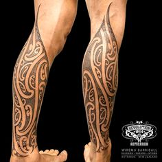 Ta moko / maori tattoo by Wiremu Barriball. Tribal Tattoos, Maori