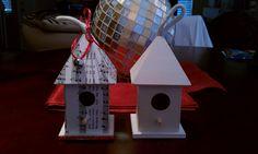 I made this birdhouse ornament!  so cute