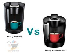 Keurig K Select vs K Classic - Which One is Best & Why? Coffee Brewer, Hot Coffee, Coffee Drinks, Coffee Cups, Coffee Maker, Maker Labs, Security Gadgets, Single Serve Coffee, Energy Saver