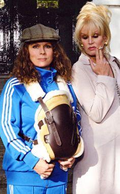 Edina Monsoon, Patsy And Edina, Patsy Stone, Jennifer Saunders, Joanna Lumley, People Smoking, Ab Fab, Tilda Swinton, British Comedy