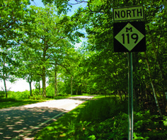 M-119's Tunnel of Trees is a 16-mile scenic road that begins in Harbor Springs and ends in Cross Village. The Tunnel of Trees is beautiful four seasons a year!