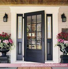 Dış Kapı Dekorasyon Modelleri