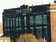 Ohio Edison by Cindy Funk, via Flickr, It is not gone!! Coming home from the Dayton airport I would see and knew I was home