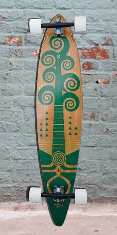 """Longboards USA - Bamboo Pintail Wacah Chan 44"""" Longboard - Complete, $188.00 (http://longboardsusa.com/longboards/cruiser-longboards/bamboo-pintail-wacah-chan-44-longboard-complete/)"""