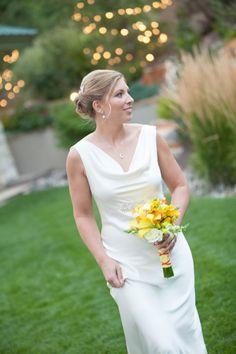 Cindys denver winter wedding claire pettibone viola gown bride krista wearing a charlie brear wedding gown from little white dress bridal shop in denver junglespirit Images