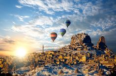 En Güzel #Kapadokya Resimleri #resimler  http://www.resimbulmaca.com/doga-resimleri-/resimleri/en-guzel-kapadokya-resimleri.html