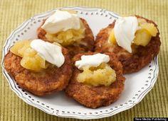 I love potato cakes.
