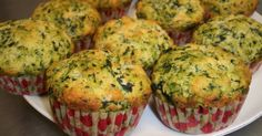 Spinach and Parmesan Muffins Norali Recipe – Muffins Muffin Recipes, Baby Food Recipes, Cooking Recipes, Tapas, Mini Cake Sale, Vegetable Recipes, Vegetarian Recipes, Salty Foods, Snacks