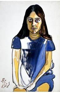 Alice Neel Portraits | Neel, Alice - Nancy Selvege - Neo-Expressionism - Oil on canvas ...
