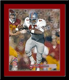 Archie Griffin, Ohio State Two-Time Heisman Trophy Winner, Framed