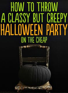 24 Beautiful And Stylish Ways To Decorate For Halloween Throw the classiest Halloween party ever, on the cheap. You can always save the decorations for your future spooky goth wedding. Halloween Tags, Creepy Halloween Party, Classy Halloween, Halloween Kostüm, Holidays Halloween, Halloween Parties, Cheap Halloween Decorations, Adult Halloween Birthday Party, Halloween Games For Adults
