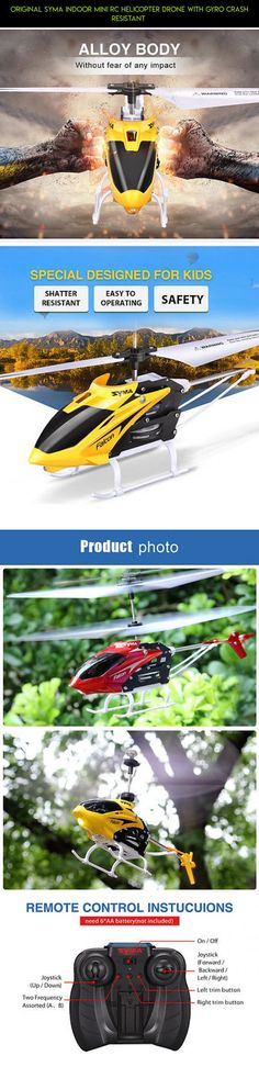 Original Syma Indoor Mini RC Helicopter Drone with Gyro Crash Resistant  #gadgets #camera #shopping #tech #plans #products #parts #syma #kit #drone #fpv #drone #indoor #racing #technology