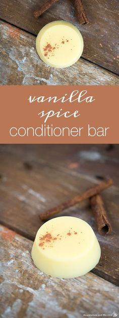 How to Make a Vanilla Spice Conditioner Bar