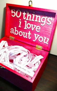 DIY gift ideas for him - cute and romantic DIY gifts for Valentine's Day, birthday, anniversary