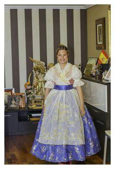 FMIV 2013 - 1700 indumentaria valenciana - traje para la dança de la Virgen de los Desamparados